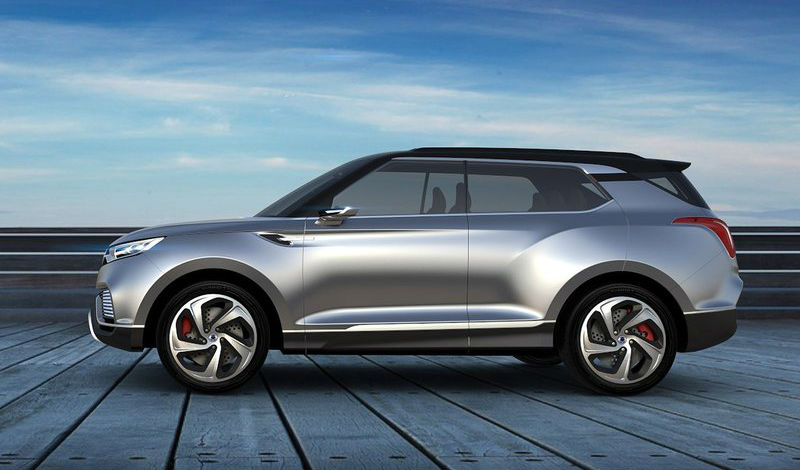 New SsangYong XLV Concept Revealed