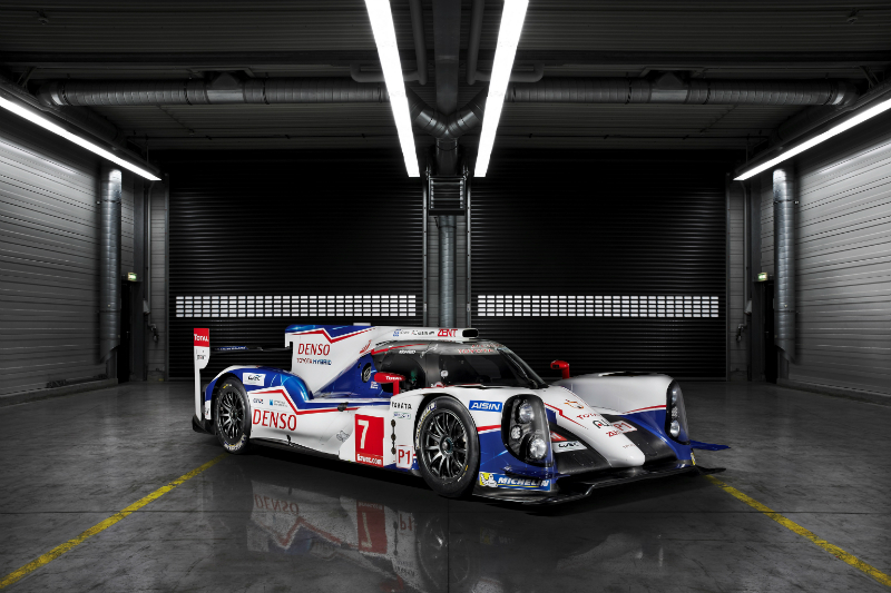 New Toyota TS040 Hybrid Revealed