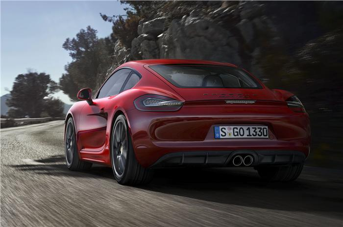 Porsche Boxster GTS Back View