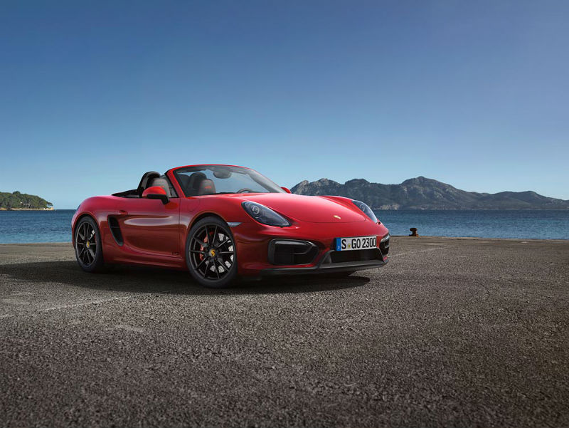 Porsche Boxster GTS and Cayman GTS Announced