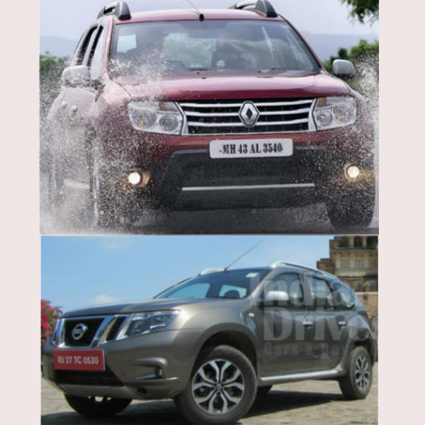 Renault Duster and Nissan Terrano to Get 4x4 Soon
