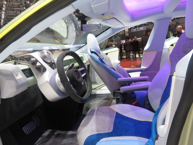 Rinspeed XchangE interiors