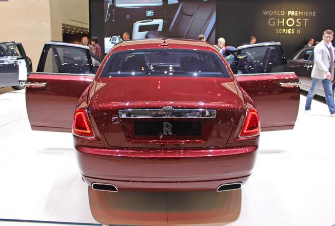 Rolls-Royce Ghost Series II Back View