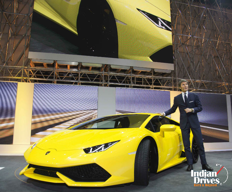 Lamborghini sets turnover record at 508 million euros