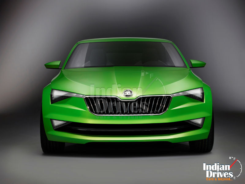 Skoda First Coupe VisionC Concept