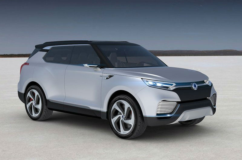 SsangYong XLV Concept Revealed 2014
