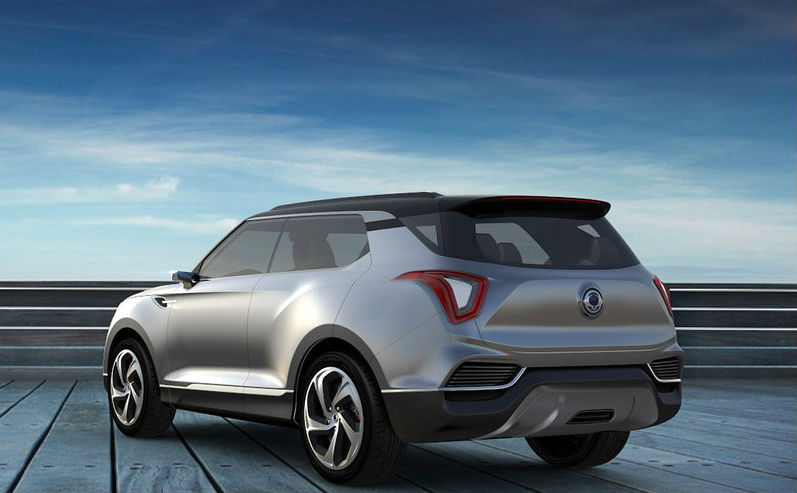 SsangYong XLV Concept Revealed Back View