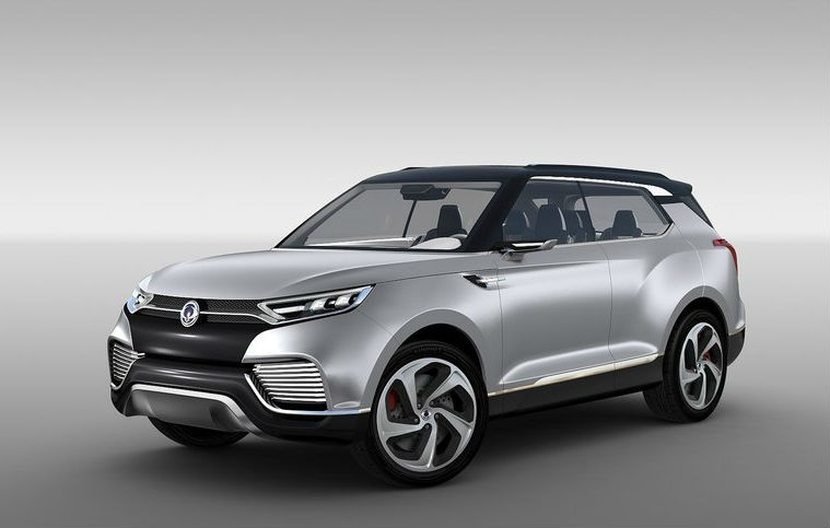SsangYong XLV Concept Revealed