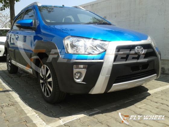 Toyota Etios Cross Spied
