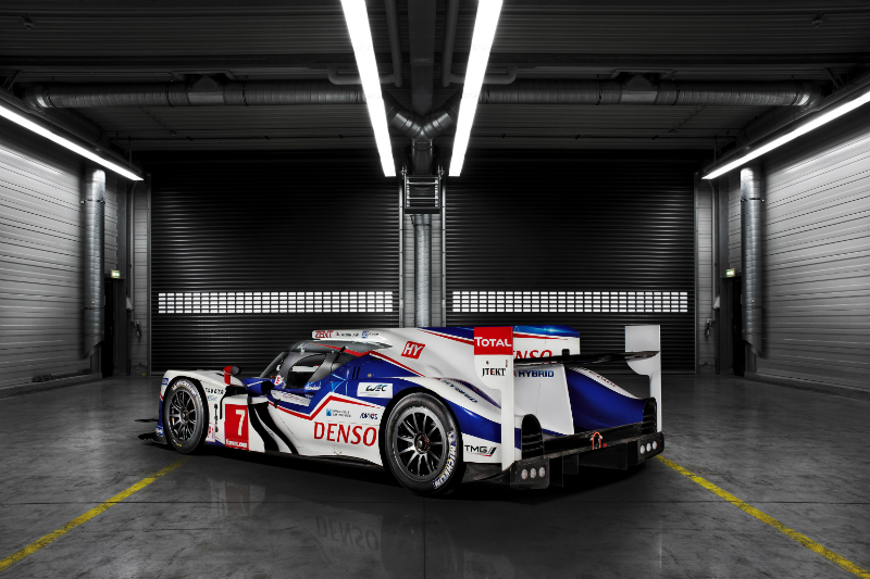 Toyota TS040 Hybrid Revealed Back View