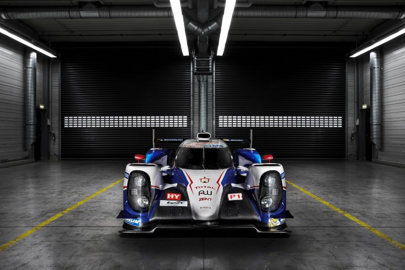 Toyota TS040 Hybrid Revealed