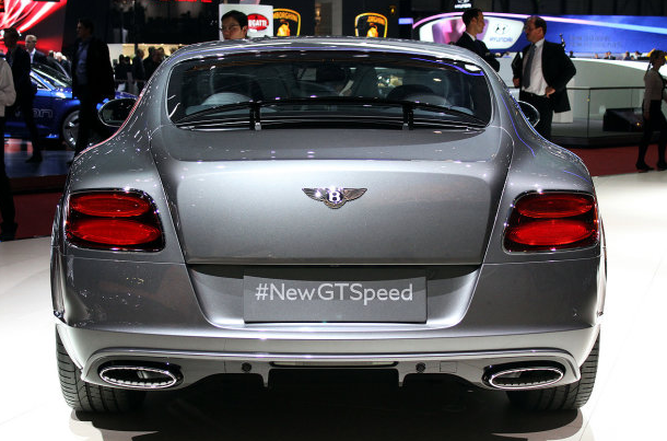 Bentley Continental GT Speed Back View