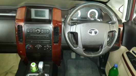 Used Tata Aria Interiors