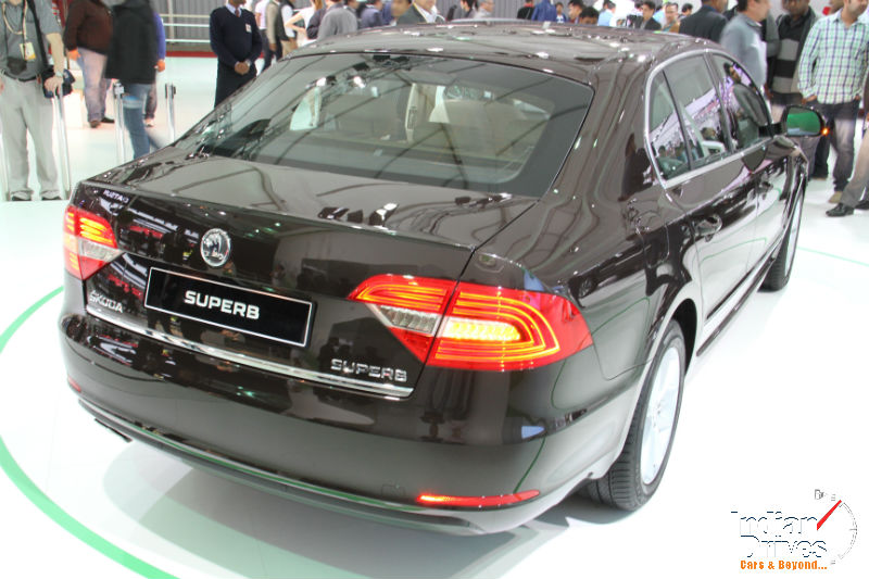 Skoda Superb Back View