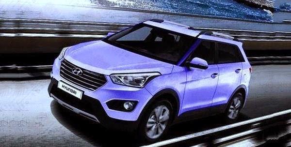 Hyundai iX25 Compact SUV Revealed