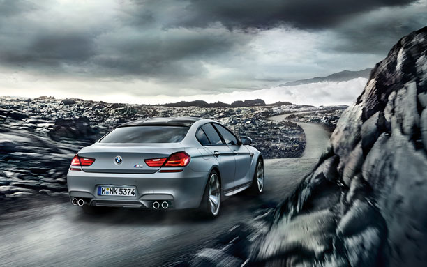 2014 BMW M6 Gran Coupe Back