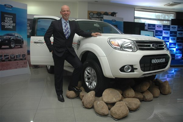 2014 Ford Endeavour Facelift