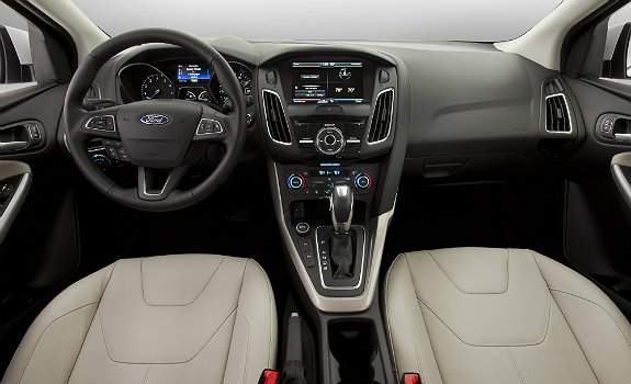2015 Ford Focus interiors