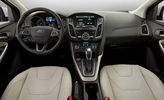 2015 Ford Focus interiors