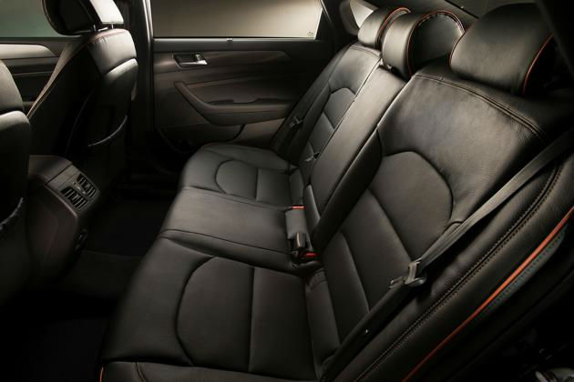 2015 Hyundai Sonata Seating Arrangement
