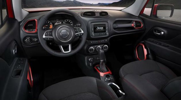 2015 Jeep Renegade Interior