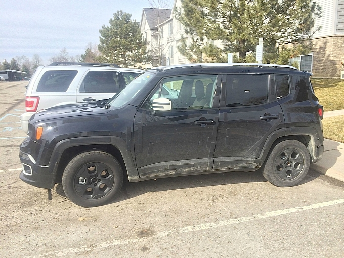 2015 Jeep Renegade Spotted