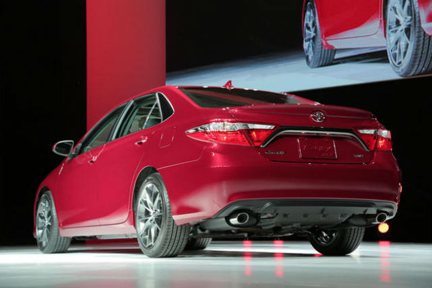 2015 Toyota Camry back view