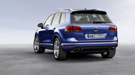 2015 Volkswagen Touareg Back View