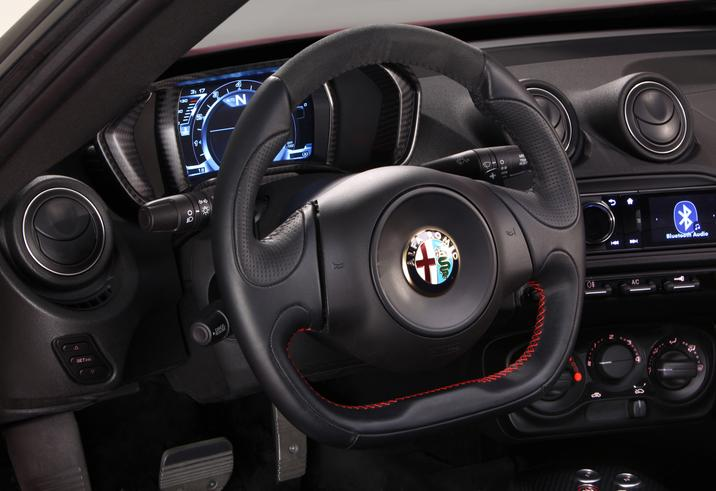 Alfa Romeo 4C interiors