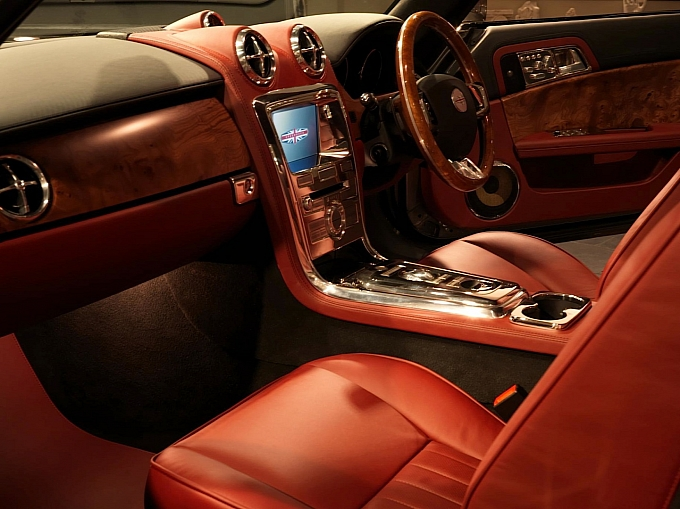 Aston-Martin DB5 interiors