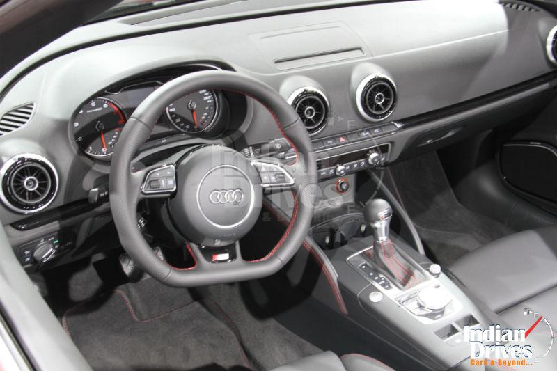 Audi A3 1.8T Quattro Interiors