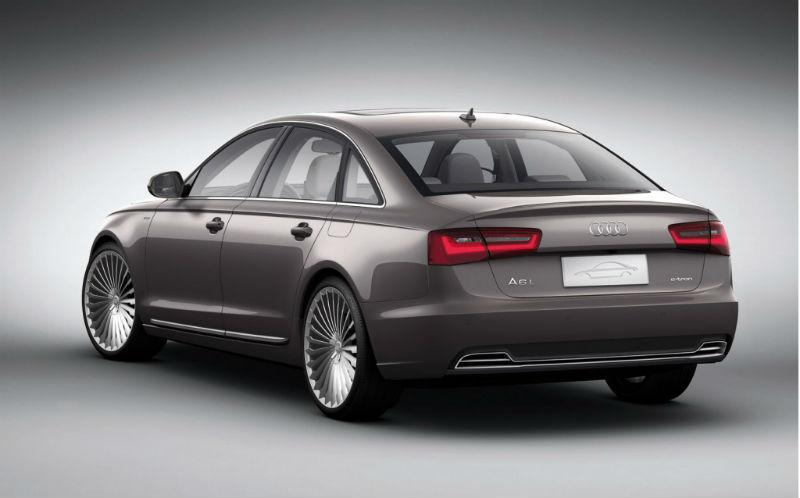 Audi A6 Plug Back View