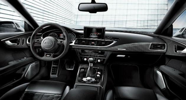 Audi RS7 Dynamic Edition Interior