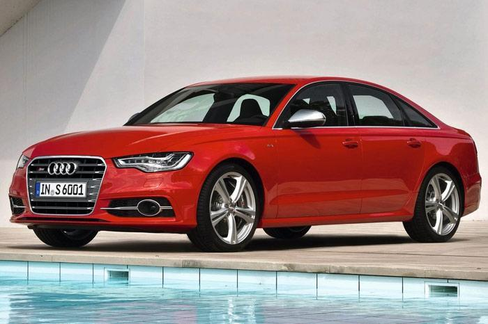 Audi Readying A6 Facelift with Matrix Headlamps