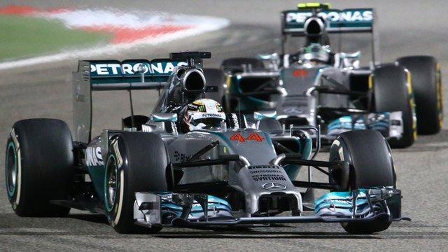 Bahrain F1 Grand Prix 2014 Results
