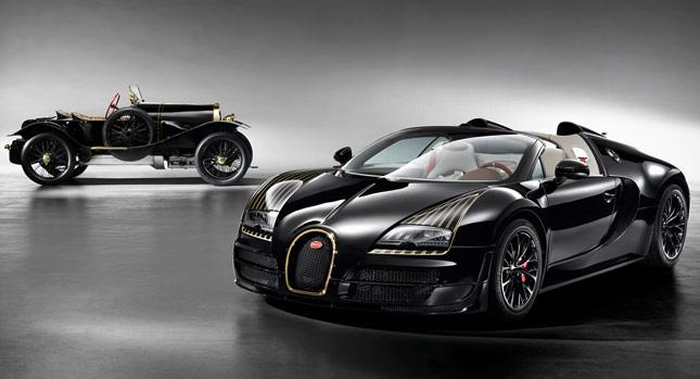 Bugatti Legend Black