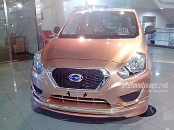 Datsun GO Plus MPV Spotted with Hi-Sporty Body Kit in Indonesia
