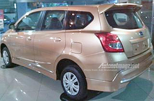 Datsun GO Plus MPV Spotted
