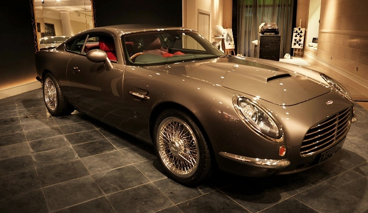 David Brown's Aston-Martin DB5-inspired Speedback Debuts in London