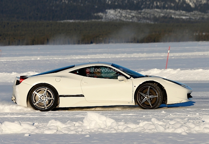 Ferrari 458 Replacement Spotted