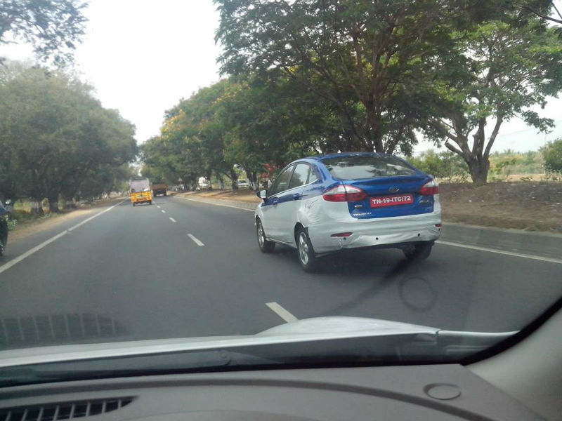 Ford Fiesta Facelift Spied Testing in India, Launch Nearby