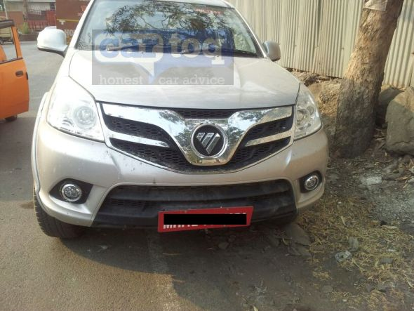Foton Tunland Pickup Spy Pic India front