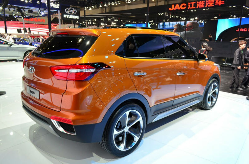 Hyundai ix25  Back View