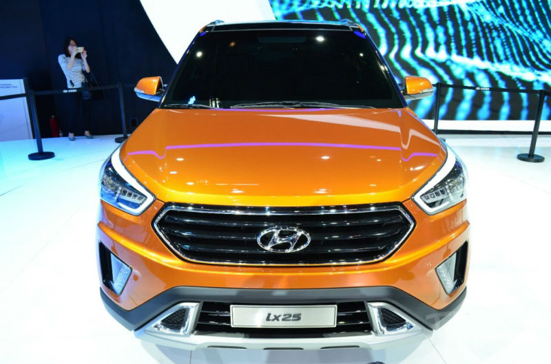 Hyundai ix25 compact SUV concept