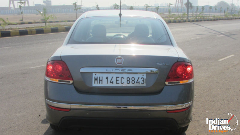2014 Fiat Linea Back View