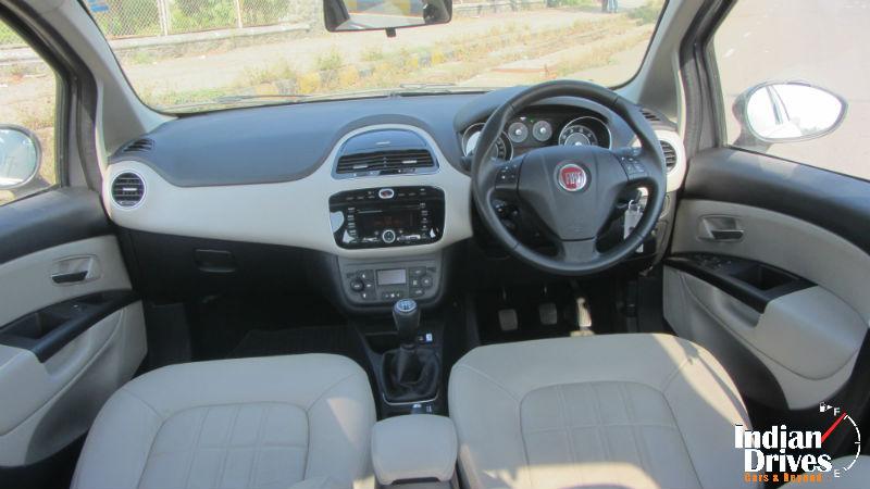 2014 Fiat Linea interiors
