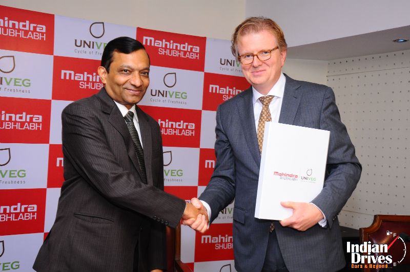 Mahindra ShubhLabh Services enters into Joint Venture with UNIVEG