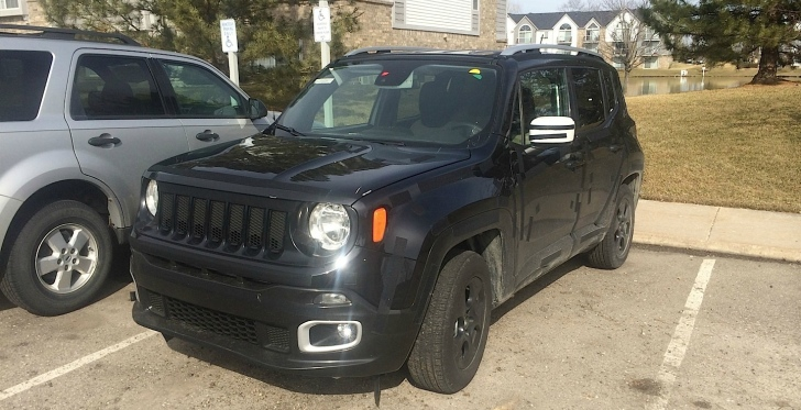 Jeep Compact SUV Renegade Spotted