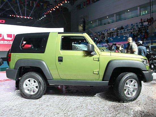 Jeep Wrangler Chinese Copy BAIC B40