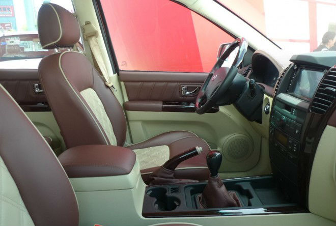 Kawei K1 Pickup is Chinese Copy of Ford F-150 interiors